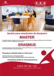 Los azudenses pueden solicitar las ayudas municipales para Máster, Posgrado y Erasmus