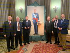 La emblemática Real Gran Peña recepciona la obra obra del pintor Emilio Fernández Galiano