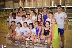 Gran actuación del Natación Guadalajara en el estreno de la Liga de Menores