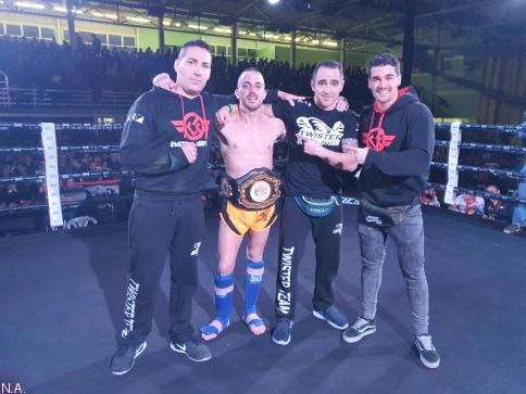 El azudense, Juankar, nuevo campeón de España en K1