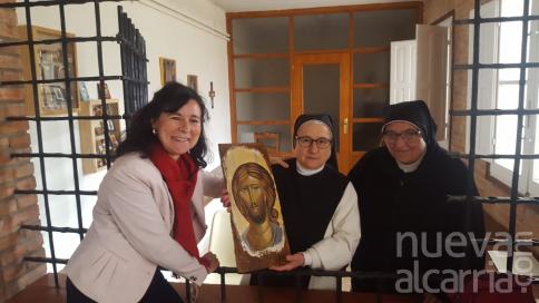 El Consistorio briocense restaura dos breviarios del siglo XIX del convento de Bernardas de Santa Ana