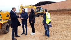 Comienzan las obras del nuevo depósito de agua que cubrirá las necesidades de Azuqueca para las próximas décadas