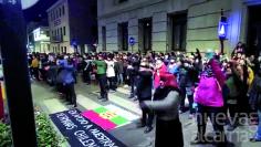 Las alcarreñas hicieron suyo el himno 'Un violador en tu camino'