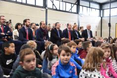 El nuevo gimnasio de La Muñeca también servirá para desarrollar actividades extraescolares y municipales