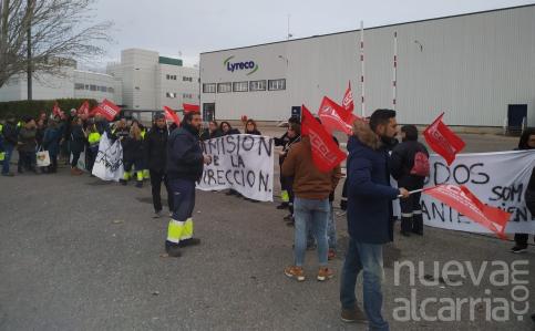 Más del 85% de la plantilla de Lyreco secunda el primer día de la huelga indefinida