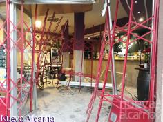 Revientan la entrada del bar El Rincón de Orea por el método del alunizaje