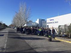 El 85% de la plantilla de Lyreco despide 2019 con huelga indefinida contra las externalizaciones de la empresa