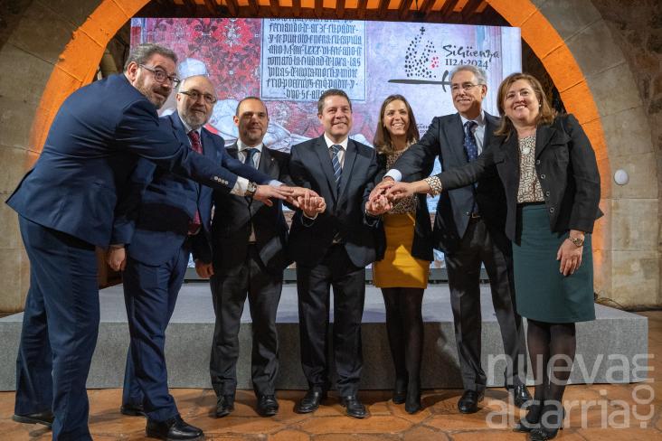García-Page anuncia que ya han iniciado los trámites para que se declare Sigüenza Patrimonio de la Humanidad