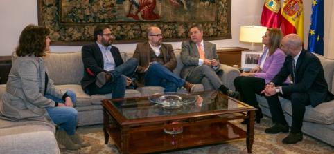 Gobierno regional, PSOE y Ciudadanos acuerdan el inicio de los trámites para reformar el Estatuto de Autonomía