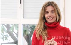La autora de literatura Infantil y juvenil, Raquel Díaz Reguera, visita a los alumnos de Cabanillas