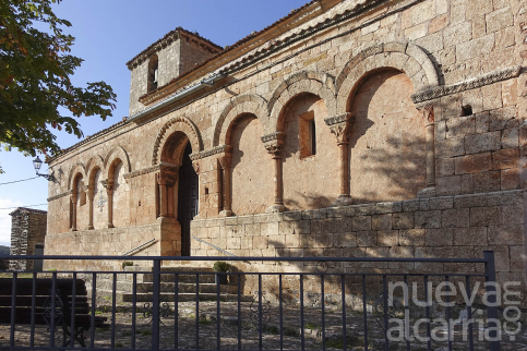 La iglesia románica de Grado del Pico