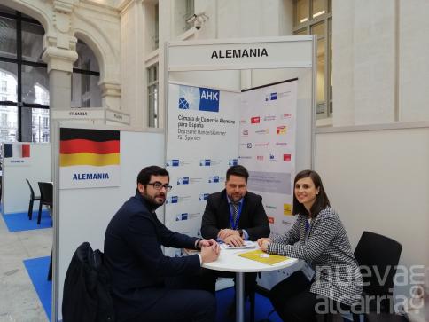 Guadalajara Empresarial mantiene reuniones con representantes de distintos países en Imex-Madrid 2020