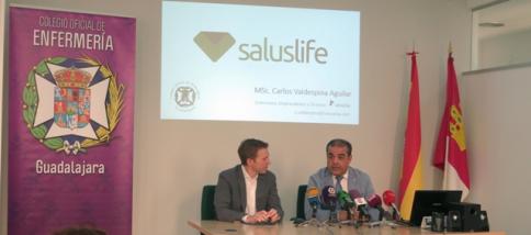 El Colegio de Enfermería presenta 'Saluslife', una plataforma de cursos 'online' dirigidos a la ciudadanía