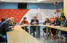 Parlamentarios del PSOE se reúnen con organizaciones agrarias de la provincia