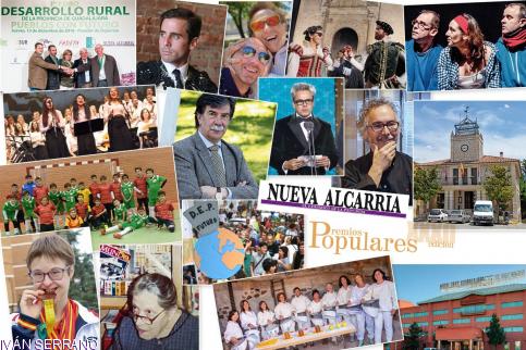 Los XXXII Populares Nueva Alcarria se entregarán el 11 de marzo