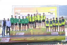 El CAUG, tercero en el Campeonato de España de Campo a Través