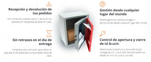Un estudiante de Ingeniería de Guadalajara patenta un buzón inteligente que recibe pedidos, incluso sin estar el receptor en casa