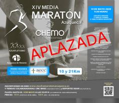 La Media Maratón de Azuqueca se traslada al 18 de octubre