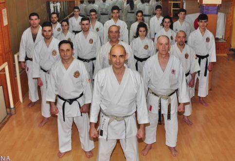 La escuela de karate Hombu Dojo de Guadalajara cumple 40 años de vida