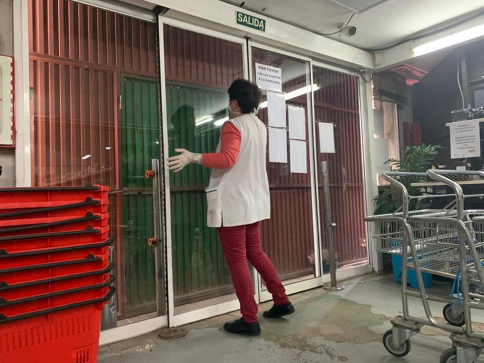 Incidente en los almacenes VIVO de Molina