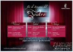 El Gobierno regional celebra el Día Mundial del Teatro ofreciendo una treintena de obras on line