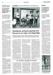 El voleibol era el gran protagonista en el deporte alcarreño hace quince años