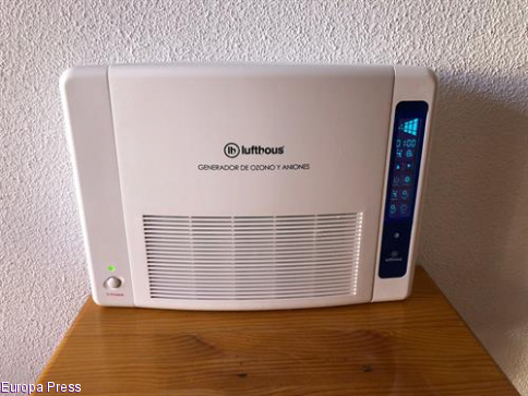 El Casar instala tres dispositivos de desinfección de aire equipados con ozono