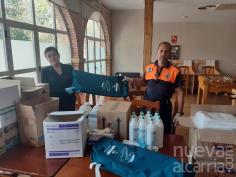 El Ayuntamiento de Villanueva de la Torre dota de nuevo material a la Agrupación de Protección Civil del municipio