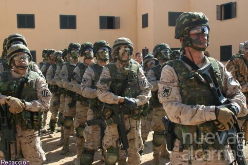 Efectivos del Ministerio de Defensa apoyarán hoy jueves en la región a las Fuerzas y Cuerpos de Seguridad del Estado en distintos cometidos