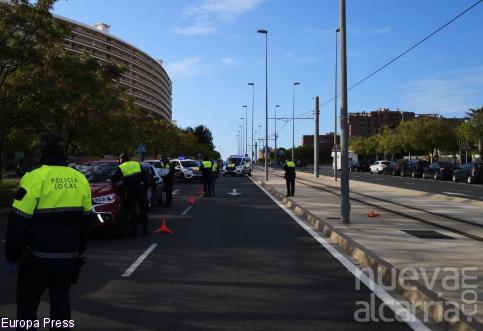 La Policía Local de Alicante identifica a vecinos de Guadalajara en los controles de acceso por la Semana Santa