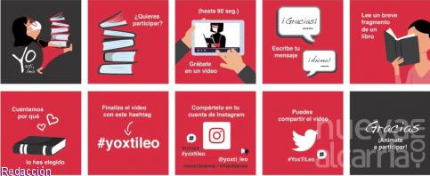 Lanzan desde la UAH '#YoXTiLeo': un proyecto  de biblioterapia 'on line'