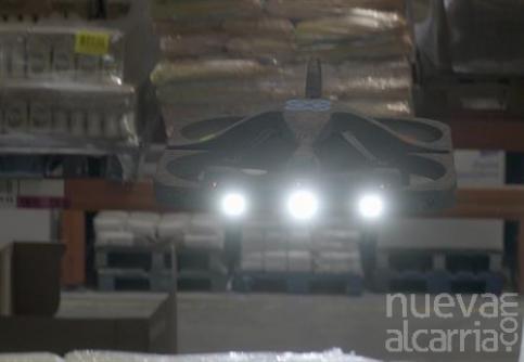 Éxito de una prueba piloto realizada por DHL en Quer para incorporar drones a sus centros logísticos