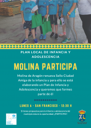 La ciudadanía de Molina de Aragón participa en el nuevo plan local de infancia y adolescencia