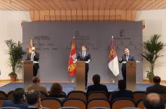 Aragón, Castilla-La Mancha y Castilla y León firman la necesidad de ayudas especiales para Teruel, Cuenca y Soria