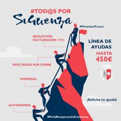 Ya se puede solicitar la línea de ayudas para pymes y autónomos de Sigüenza