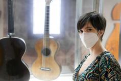 La guitarrista Silvia Nogales actúa esta noche en la ermita de San Roque de Sigüenza