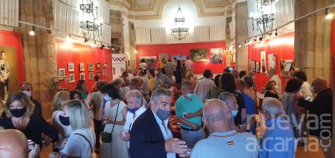 Inaugurada la exposición de Fernández Galiano en la ermita de San Roque
