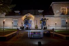 El concierto del dúo `DI-FUSSIÓN´ en Galápagos fue un éxito