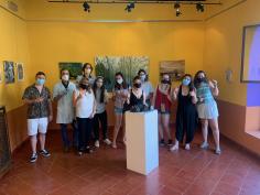 Ya se puede visitar la primera muestra de Arte Joven en Sigüenza