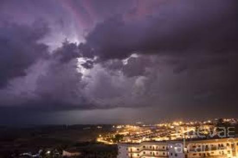Se mantiene el riesgo de tormentas, sobre todo en el norte de la provincia