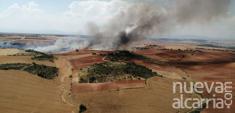 Las hectáreas afectadas por incendios forestales se reducen un 25,1% en Guadalajara