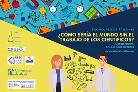 La UAH lanza el concurso '¿Cómo sería el mundo sin el trabajo de los científicos?'