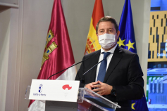 """García-Page reclama una """"medida homologable"""" entre el Gobierno nacional y las Comunidades Autónomas para abordar el avance del Covid-19"""