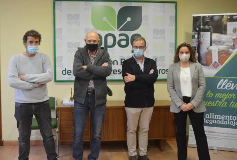 Juan José Laso coge el testigo de Antonio Zahonero al frente de APAG y Coagral