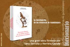 Javier Sanz y Herrera Casado publican el 'Diccionario histórico de autoridades científicas de la provincia de Guadalajara'