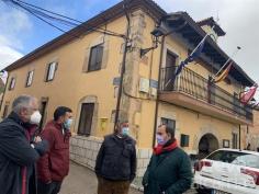 Bellido visita Cantalojas y el Hayedo de Tejeda Negra y destaca su potencial turístico y su capacidad de fijar población