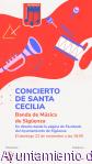 Hoy, concierto de Santa Cecilia en Sigüenza