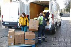 Los centros sanitarios de la región han recibido esta semana cerca de 672.000 artículos de protección