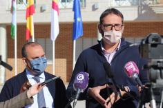 """Sergio Gutiérrez en Cabanillas: """"La región ha pasado de estar en el epicentro de la pandemia en la primera ola a ser un ejemplo"""