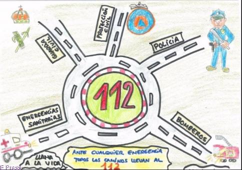 Los alumnos de 5º Y 6º de Primaria podrán presentar sus proyectos al concurso de dibujo del 112